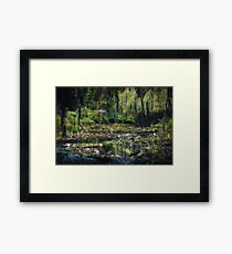 Monet's Lily Pond Framed Print