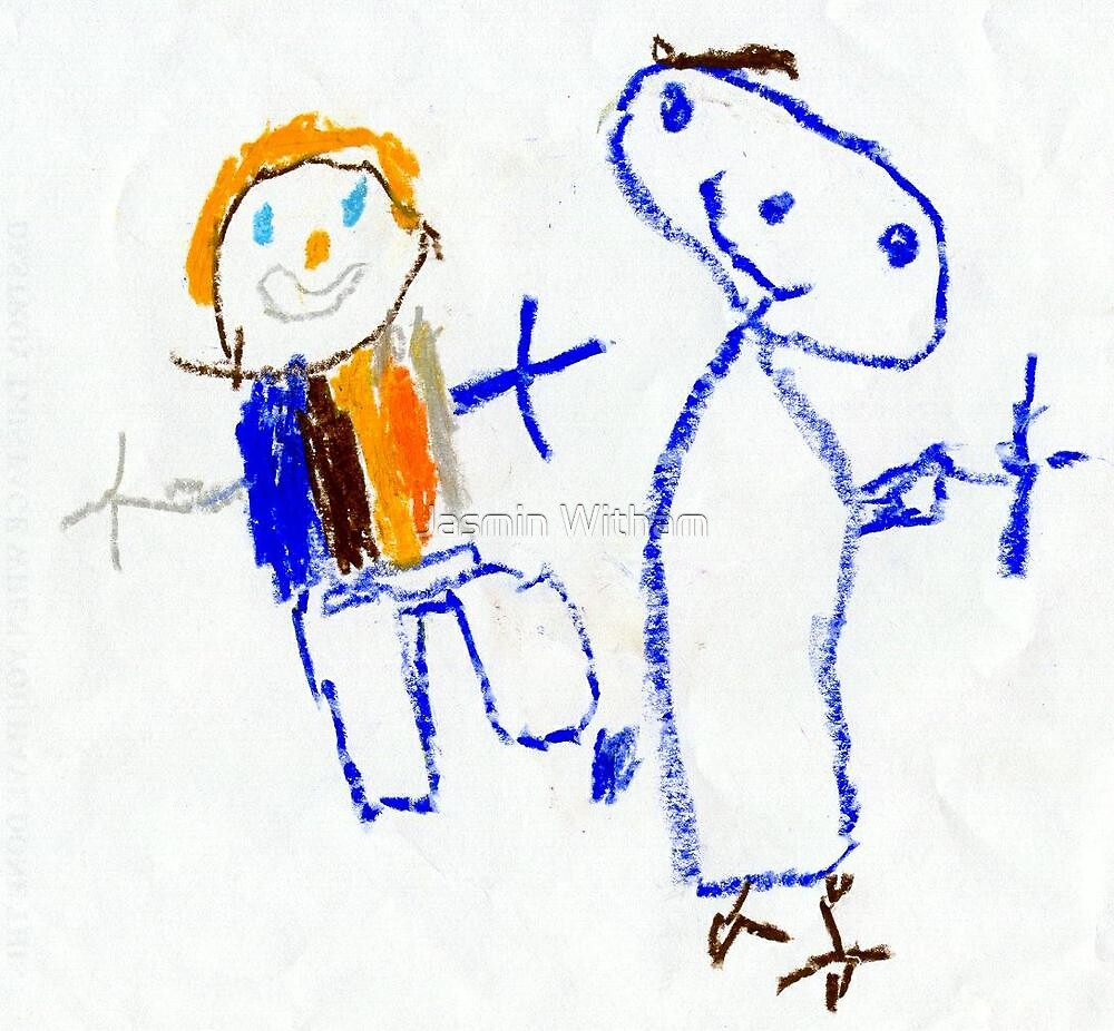 A childs drawing. by Jasmin Witham