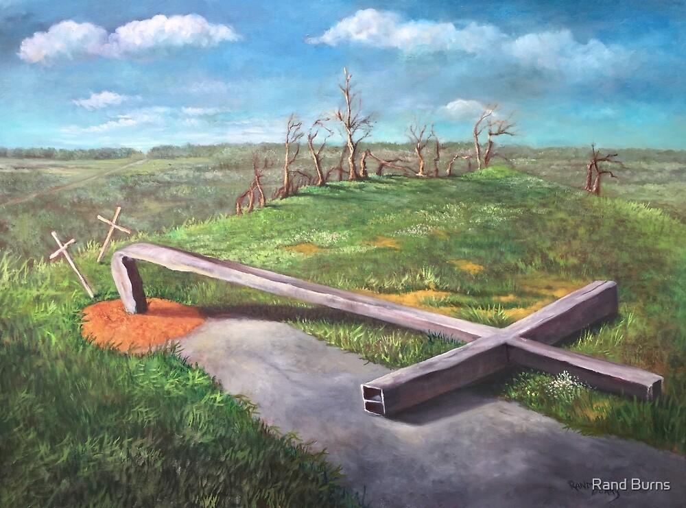 The Steel Cross by Randy Burns
