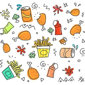 Food pattern by nicolaspro15
