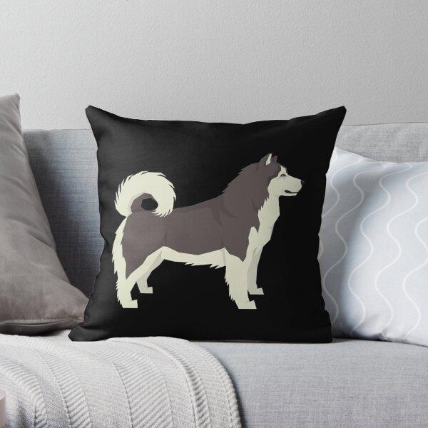 Alaskan Malamute - Gift For Alaskan Malamute Owner Lover Throw Pillow