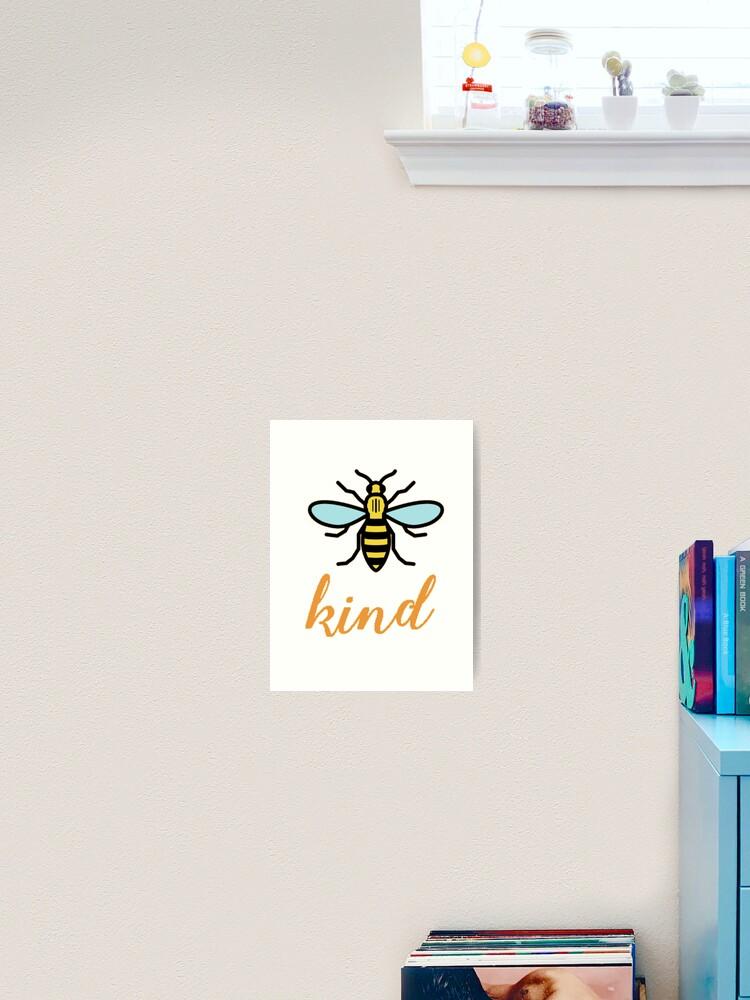 Bee Kind Art Sticker