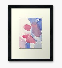Water and color 1 Framed Print