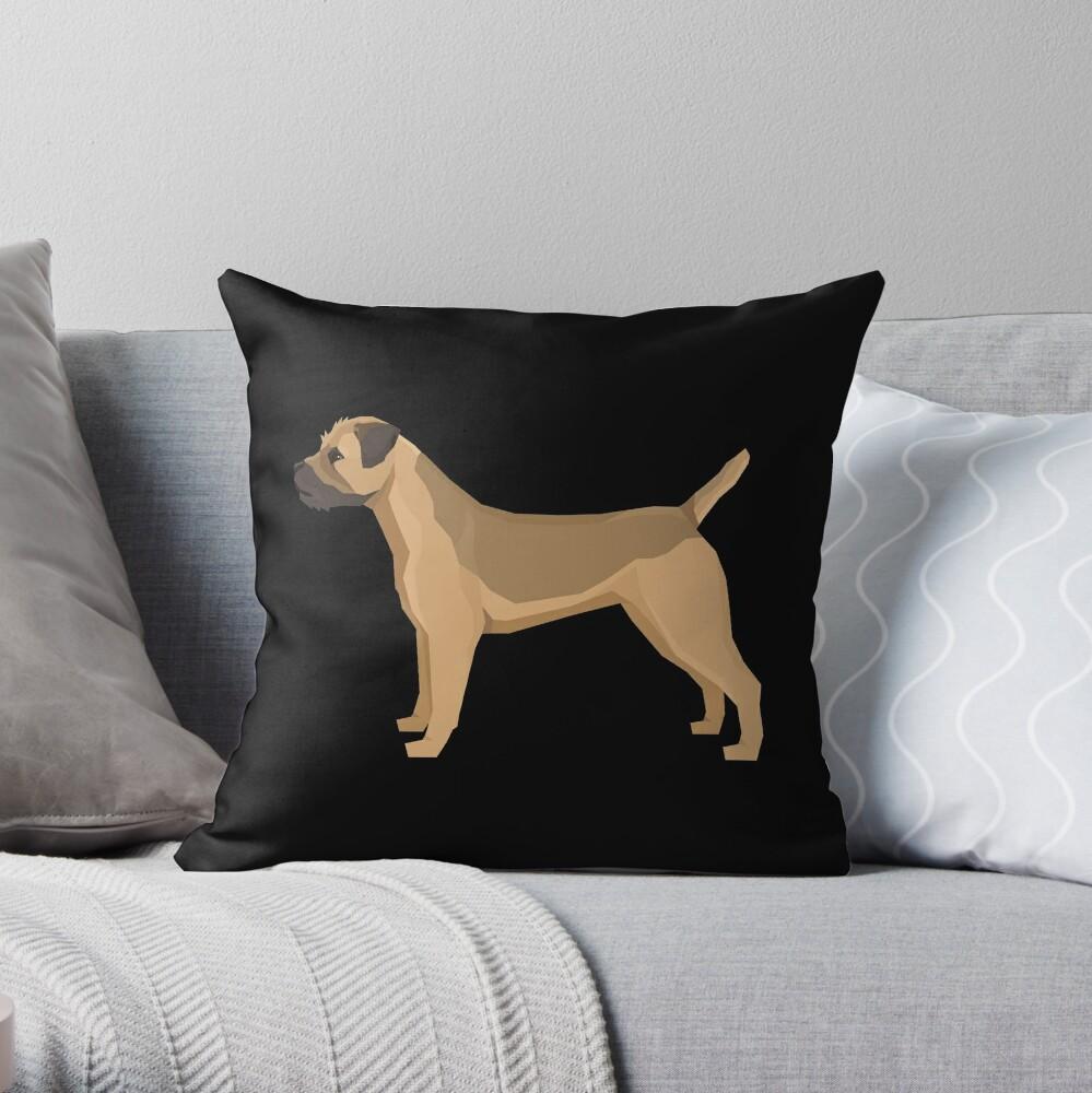 Border Terrier - Gift For Border Terrier Owner Lover Throw Pillow