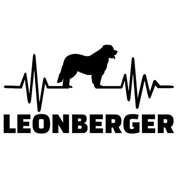 Heartbeat Leonberger by Designzz
