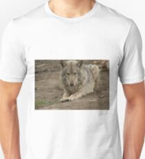 Rescued Timber Wolf 3 Unisex T-Shirt