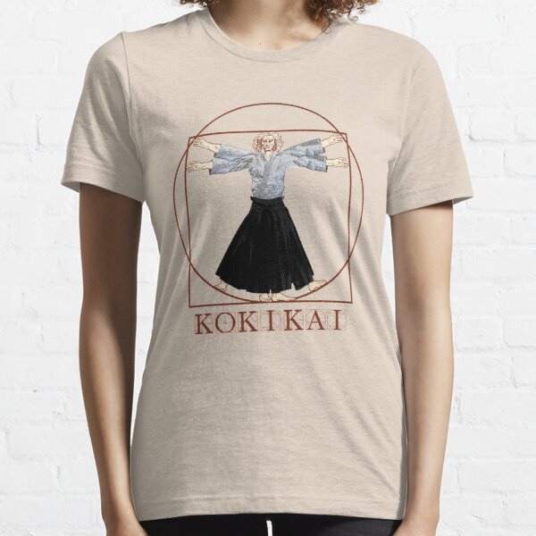 Da Vinci Kokikai Aikido  Essential T-Shirt