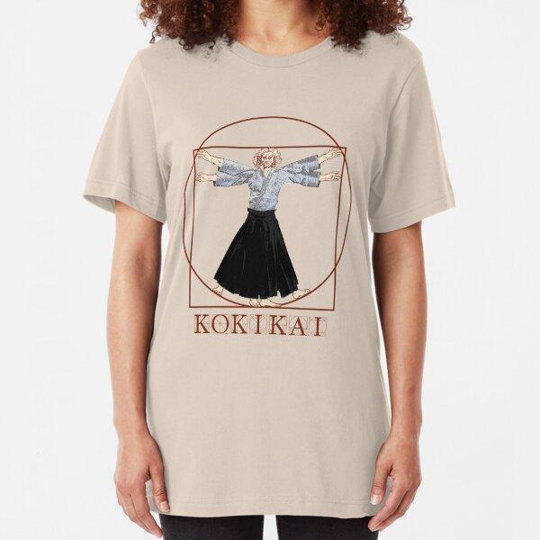 Da Vinci Kokikai Aikido  Slim Fit T-Shirt