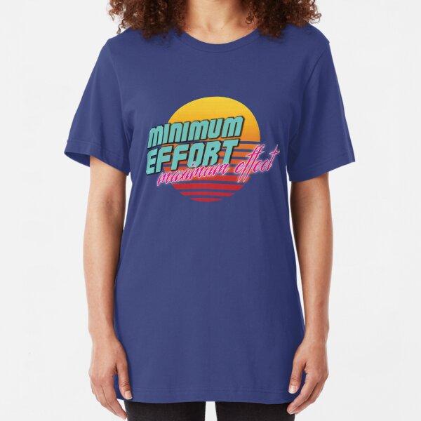 Minimum Effort. Maximum Effect.  Slim Fit T-Shirt