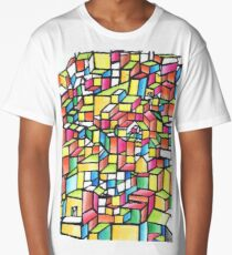 Stained Glass City Long T-Shirt