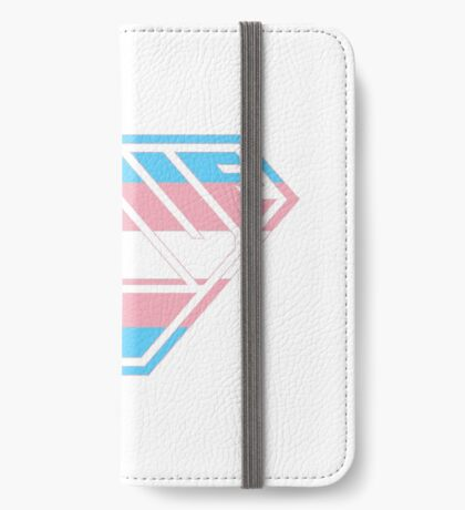 Love SuperEmpowered (Blue, Pink & White) iPhone Wallet