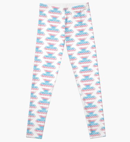 Love SuperEmpowered (Blue, Pink & White) Leggings