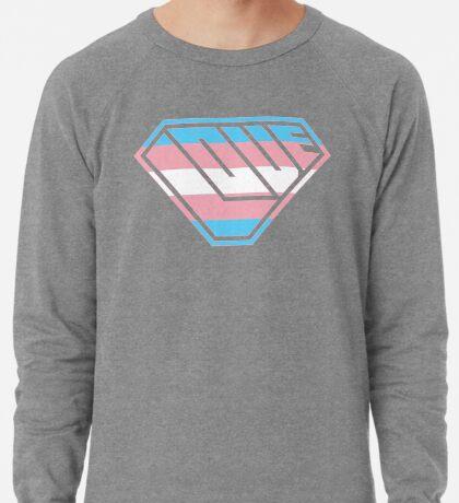 Love SuperEmpowered (Blue, Pink & White) Lightweight Sweatshirt