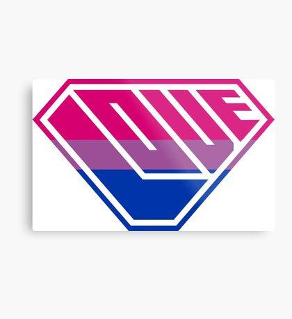 Love SuperEmpowered (Pink, Purple & Blue) Metal Print