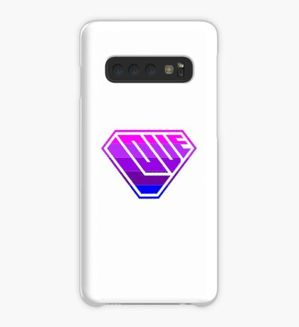 Love SuperEmpowered (Light Pink, Purples & Blue) Case/Skin for Samsung Galaxy