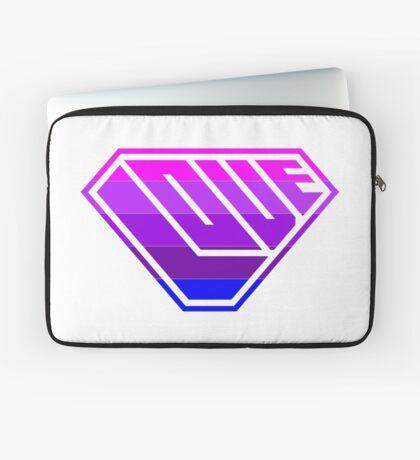 Love SuperEmpowered (Light Pink, Purples & Blue) Laptop Sleeve