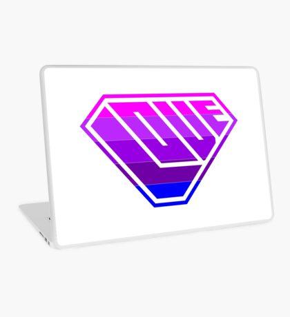 Love SuperEmpowered (Light Pink, Purples & Blue) Laptop Skin