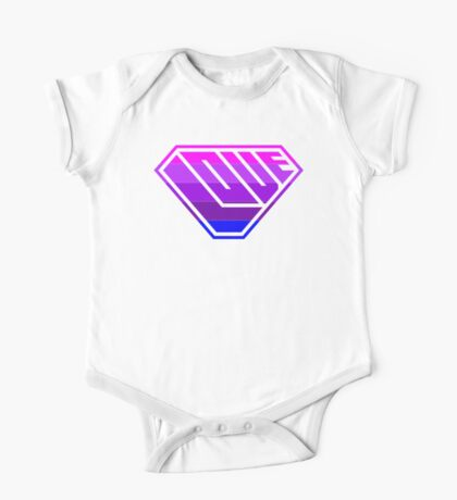 Love SuperEmpowered (Light Pink, Purples & Blue) Kids Clothes