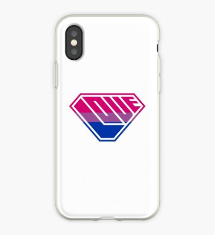 Love SuperEmpowered (Pink, Purple & Blue) iPhone Case