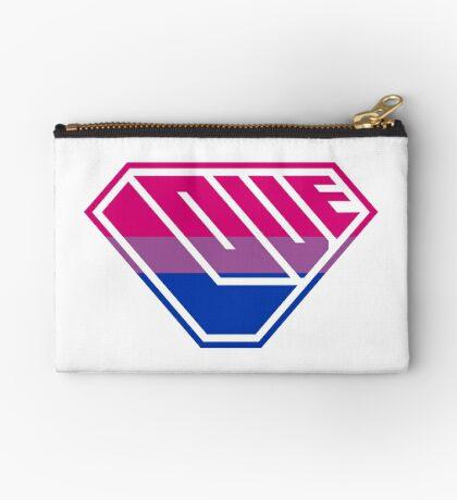 Love SuperEmpowered (Pink, Purple & Blue) Studio Pouch