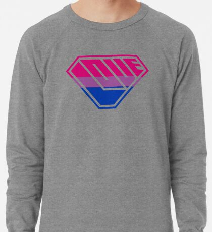 Love SuperEmpowered (Pink, Purple & Blue) Lightweight Sweatshirt
