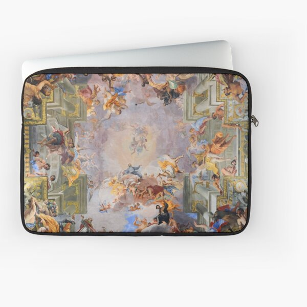 The Trompe l'Oiel Ceiling Fresco of Sant 'Ignazio di Loyola, Rome Laptop Sleeve