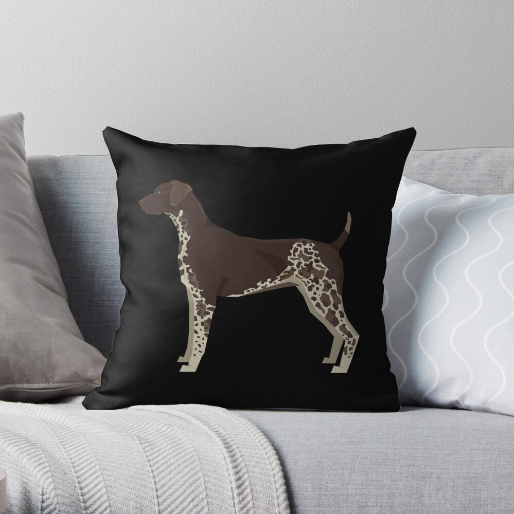 German shorthaired pointer - Gift For German shorthaired pointer Owner Lover Throw Pillow