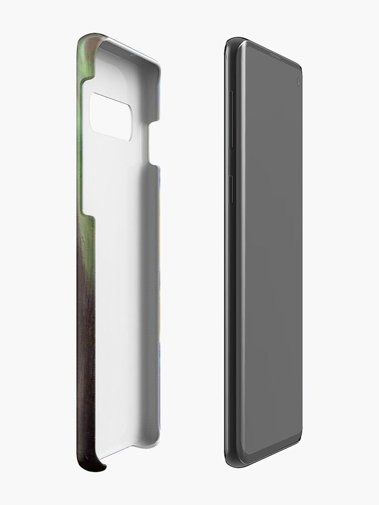 Alternate view of Blue Download (self portrait) Case & Skin for Samsung Galaxy