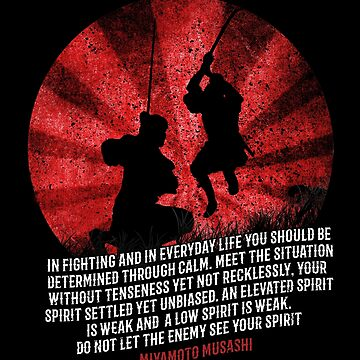 Fighting Spirit Wisdom by Samurai Musashi by MDAM