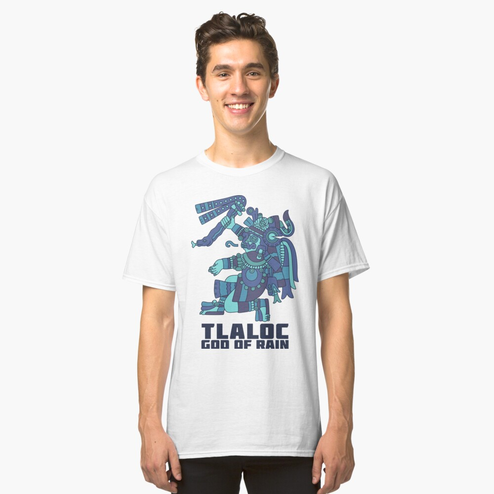 Tlaloc, God of Rain Classic T-Shirt