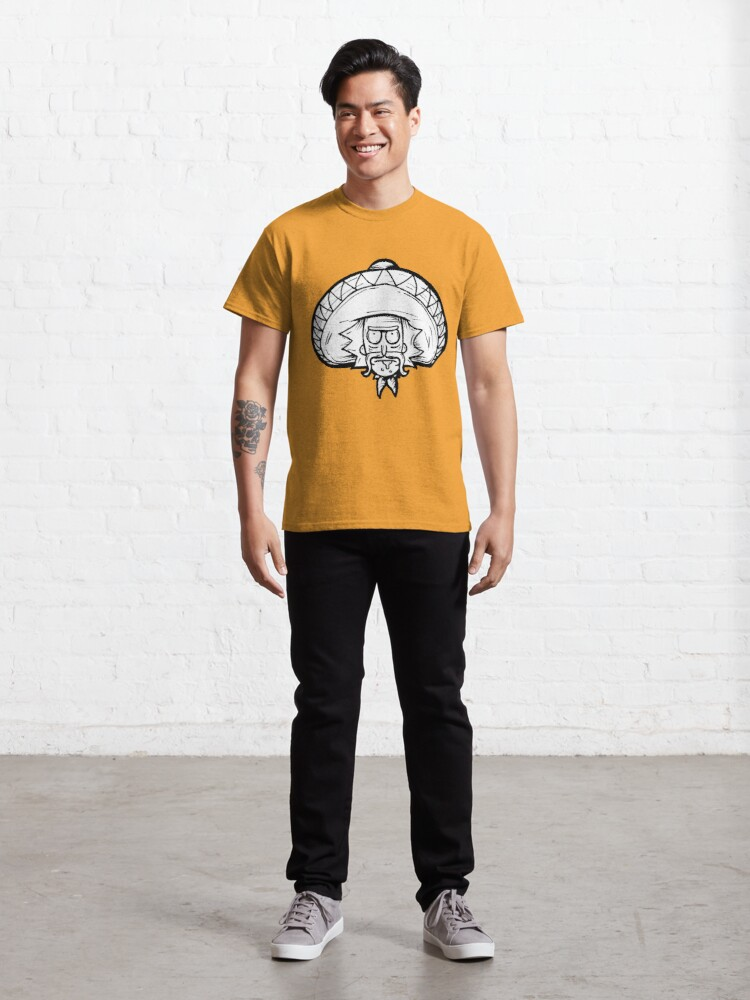 Alternate view of Mexican Rick Sanchez from Rick and Morty™ Classic T-Shirt