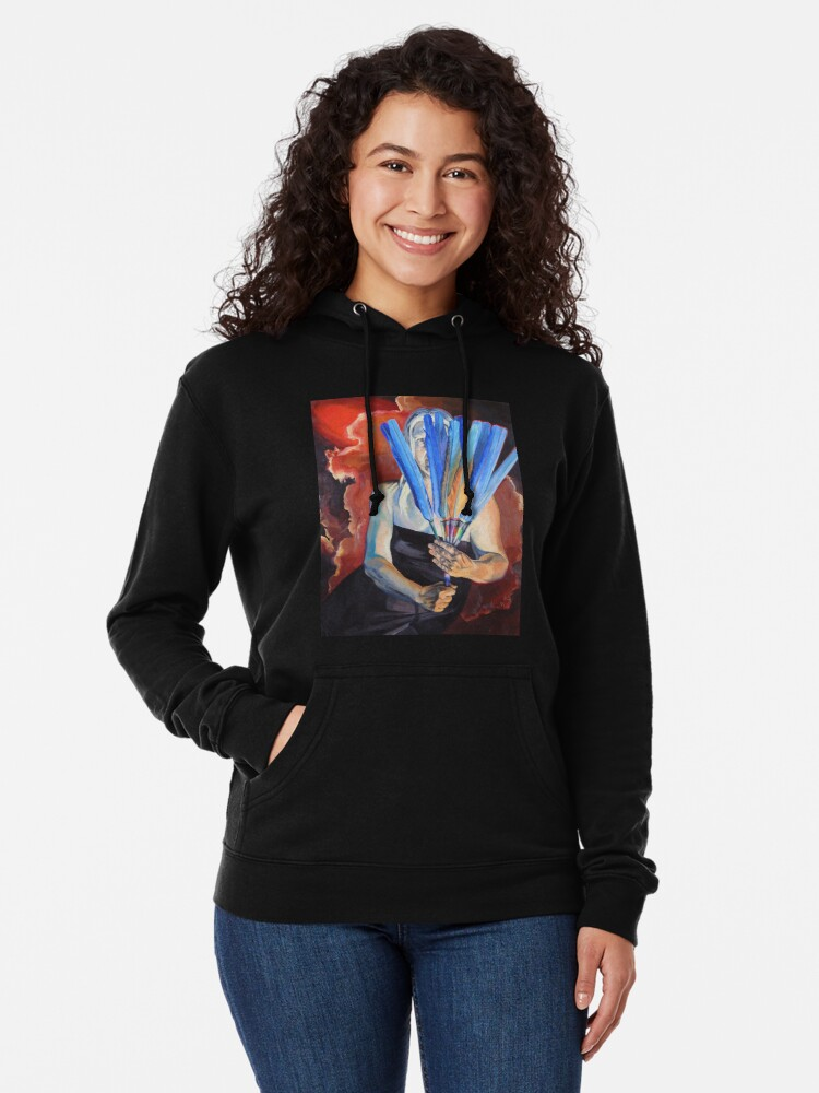 Alternate view of You Cannot Hide Any Longer Lightweight Hoodie