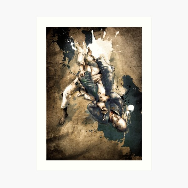 JIU JITSU ARM BAR Art Print