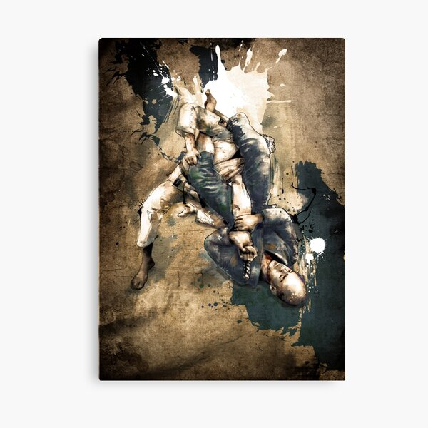 JIU JITSU ARM BAR Canvas Print