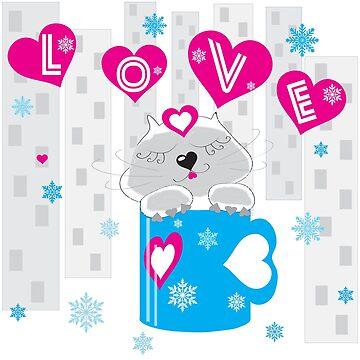 Liebe in einer Tasse von LenaLime