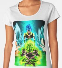 DragonBallSuperMovie Broly Women's Premium T-Shirt