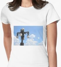 Under The Sky Womens Fitted T-Shirt