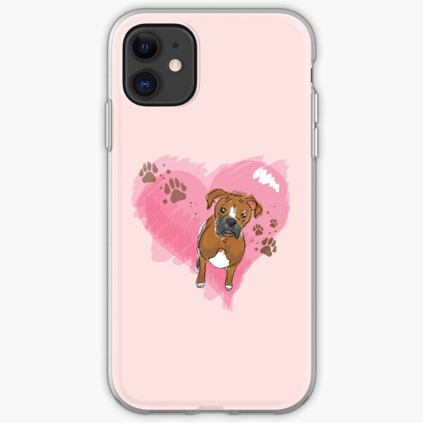 Boxer Love iPhone Soft Case