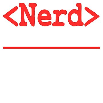 "Nerd and rockstar at the same time? You can be both with this ""Nerd Intellectual Rockstar Tee"" by Customdesign200"