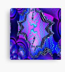 Spiral Fractal Canvas Print