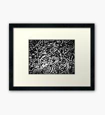 ink fantasy Framed Print