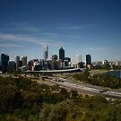 Perth City From Kings Park by mattsibum