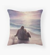 A Place By The Water Throw Pillow