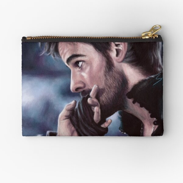 Always A Gentleman Zipper Pouch