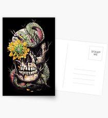 Snake and Skull Postcards