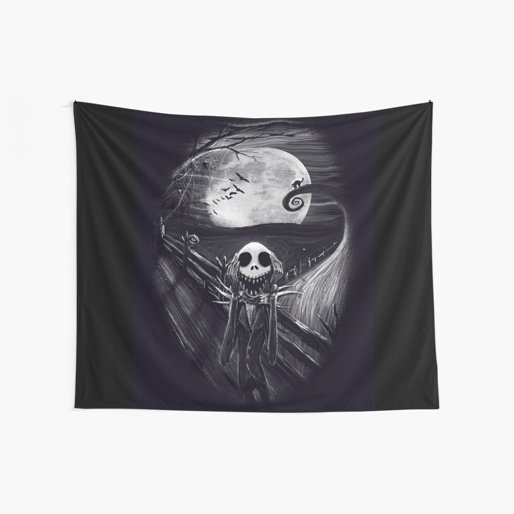 The Scream Before Christmas Wall Tapestry
