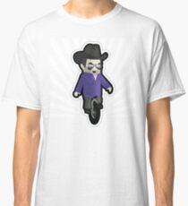 My unicycling, 10-gallon hat wearing chum Classic T-Shirt