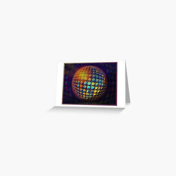 SphereSpot Greeting Card