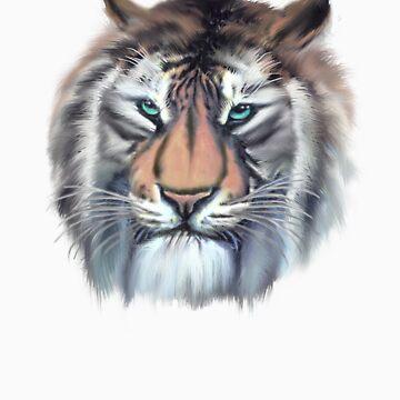 Tiger by Mickie