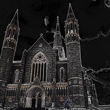Sacred Heart Cathedral Bendigo by ycaporn
